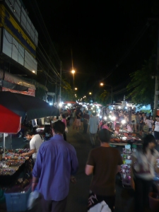Chiang Mai Night Markets. Chiang Mai, Thailand.